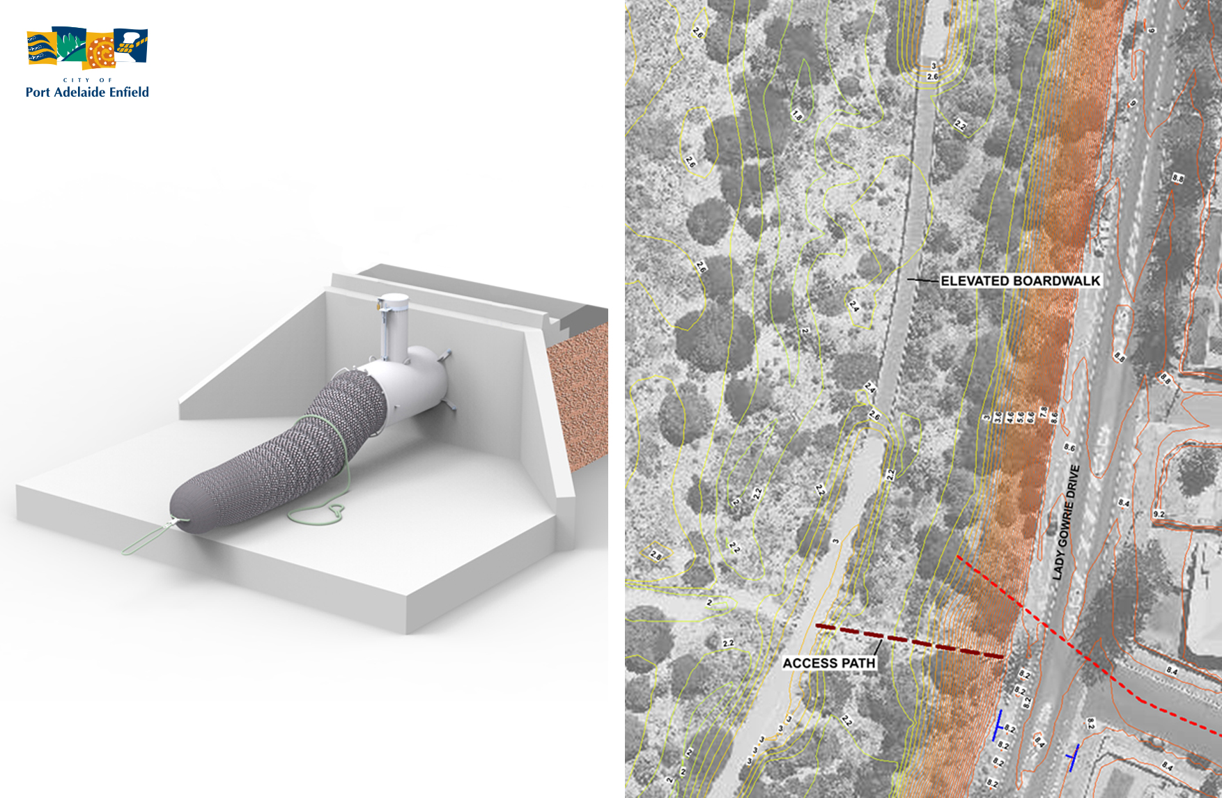 stormwater outlet